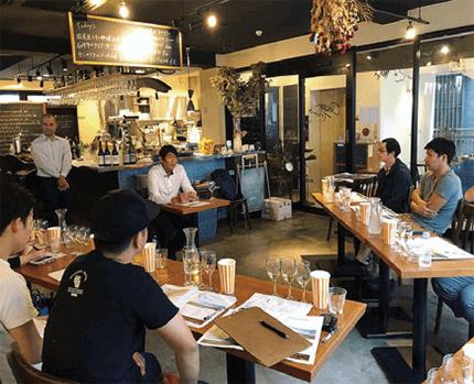 飲食店向けワイン活用法を伝授
